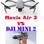 【よもやよもや…】DJI mini2とMavic Air 2を比較してみたんですが。